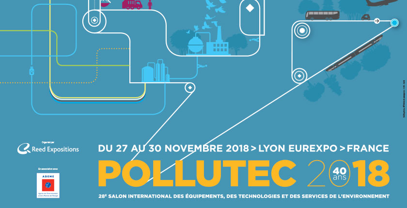 Participation au salon Pollutec